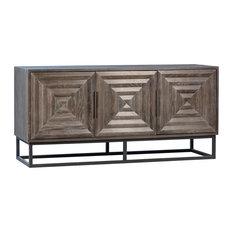 Niccolo Rustic Grey Wood Sideboard