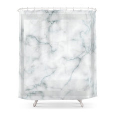 Pure Marble Shower Curtain
