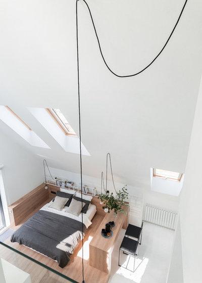 Современный  by Архитектурная студия Ruetemple