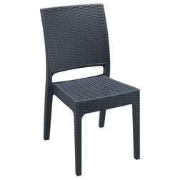 Tropical Outdoor Dining Chairs by Compamia