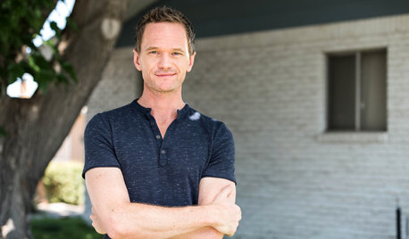 My Houzz: Neil Patrick Harris Gives His Brother a New Backyard
