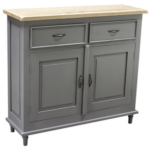 Chateau Storm Grey 2-Drawer 2-Door Sideboard