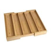 Expandable Utensil Drawer Divider, Bamboo