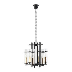 Black Chime Metal Chandelier