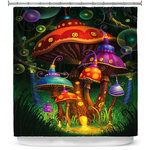 DiaNoche Designs Shower Curtain By Philip Straub Enchanted Evening