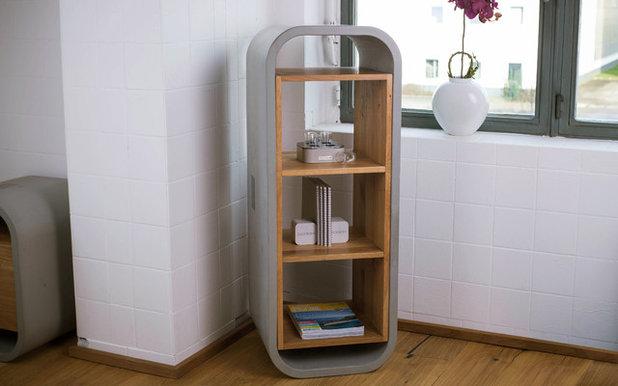 Modern Bücherregale by CO33 · Exklusive Betonmöbel