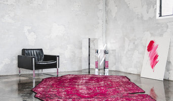 STUDIO ORIGINAL. - Artificial Carpet - Red - 285cm x 195cm