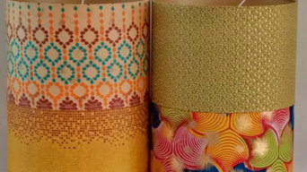 Metallic Gold Edition Bespoke Lampshades