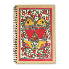 Sea of Flowers Madhubani Journal