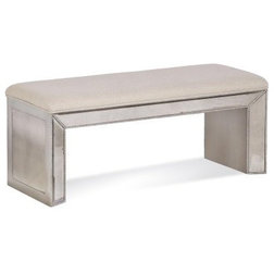 Transitional Upholstered Benches by ZFurniture