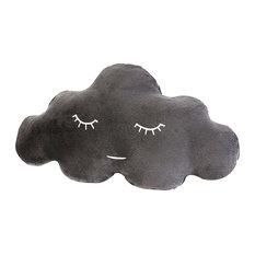 Newborn Cloud Pillow, Soft Grey, Small