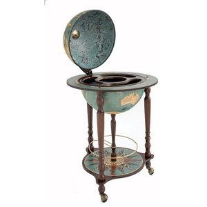 Da Vinci Blue Dust Italian Bar Globe