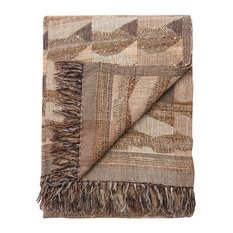 Jaipur Living Anders Taupe/Gray Abstract Throw, 52x68