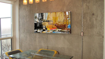 my art in homes/businesses
