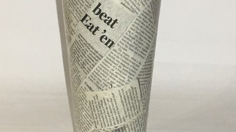 News Paper Vase