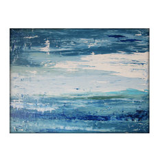 Abstract Seascape Original Painting Canvas Contemporary/Modern Painting -30x40