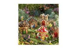 Fairy Village Houses and Fairies Sets