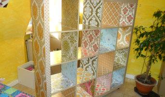 Neu designte Möbel