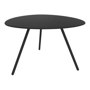 Big Dine A-Lowha Dining Table, Black, Black Frame