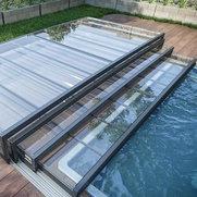 Abri design Cover retractable pool & patio cover's photo