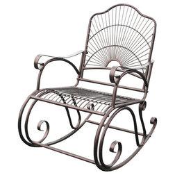 Mediterranean Outdoor Rocking Chairs by International Caravan