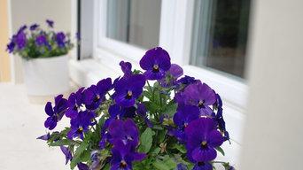 """Décoration florale /   """" Blanche Passion """""""