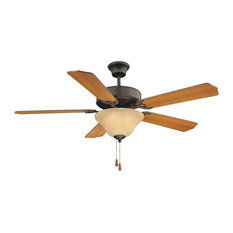 """First Value Ceiling Fan, English Bronze, 52"""""""