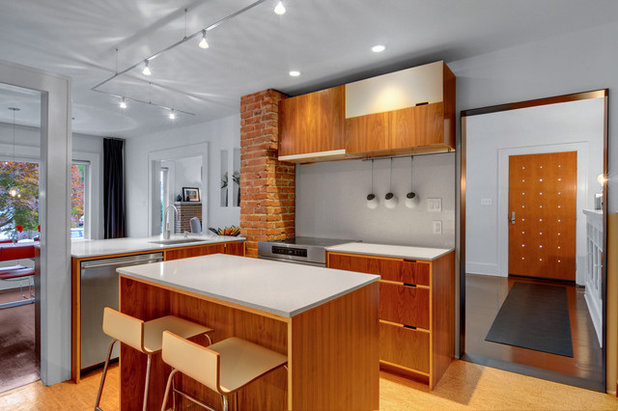 Houzz tour mixing original charm and contemporary style for Colorado kitchen designs llc