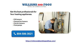 Better services for your heating, cooling, and plumbing system