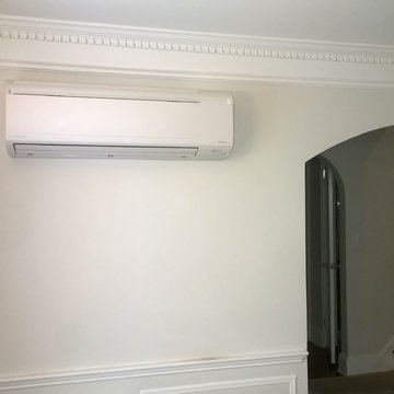Daikin Air conditioning slim duct concealed and wall mount combinations