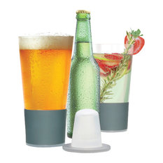 Dimple Pint Self-Chilling Smart Glassware, Set of 2