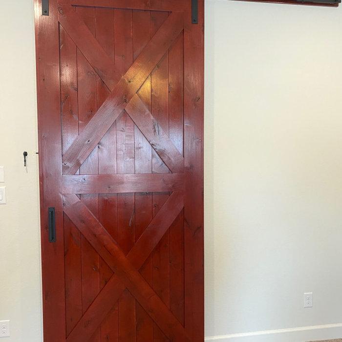 Barn Red Barn Door