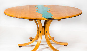 "Irish Oak ""River 2"" Dining Table"