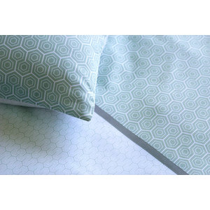 Sweden Organic Cotton 2-Piece Bedding Set, 140x220 cm, Rectangular Pillowcase