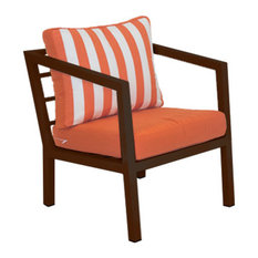 Outdoor Acapulco Lounge Chair, Bronze