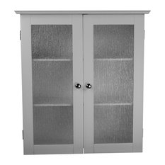 'Elegant Home Fashions - 2-Glass Doors Wall Cabinet - Bathroom Cabinets and Shelves' from the web at 'https://st.hzcdn.com/fimgs/0871e57008a4ae28_7503-w233-h233-b1-p10--.jpg'