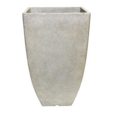 "Southern Patio Hdr-012177 Square Newland Planter, 10.5"", Bone"