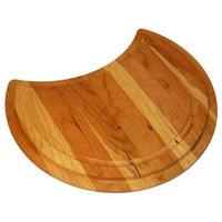 "Just Wooden Cutting Board, Hardwood, 10"" Flat Bottom"