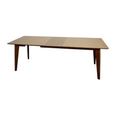 apt2b murtaugh extendable dining table dining tables - Extendable Wooden Dining Table
