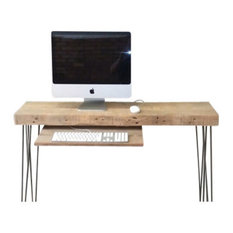 Urban Wood Goods   Urban Apartment Size Desk, Natural   Desks And Hutches