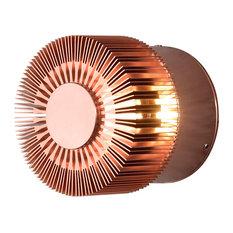 Konstsmide UK Ltd - Monza Outdoor Wall Light, Copper - Outdoor Wall Lights