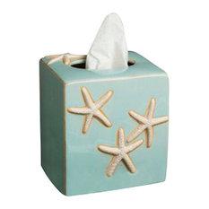 Starfish Tissue Box Holder, Ocean
