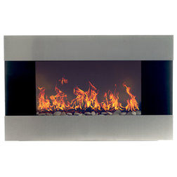 Contemporary Indoor Fireplaces by Trademark Global
