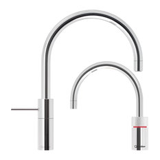 Quooker Nordic Round Twintaps (Polished Chrome)