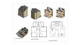 Refurb of 4 storey regency property