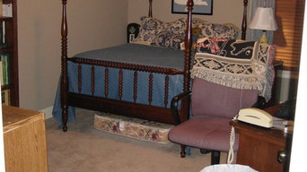 BEFORE - Guest bedroom in need of redesign