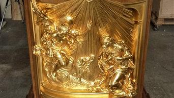 Bau des Ambos für den Petersdom zu Rom