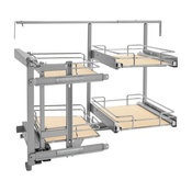 """18"""" Two-Tier Organizer for a Blind Left"""