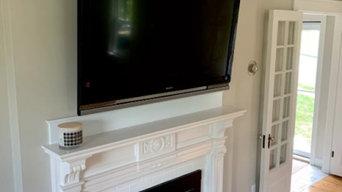 Various television installs