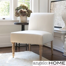 Angelo:HOME Bradstreet Marzipan Renu Chair In Cream | Wayfair